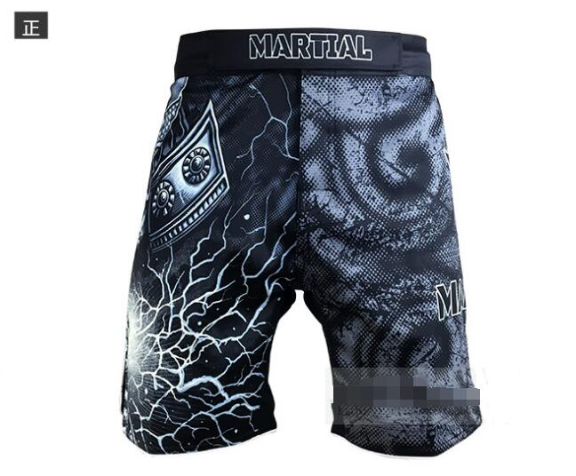 Skeleton warrior MMA shorts fitness pants. ...