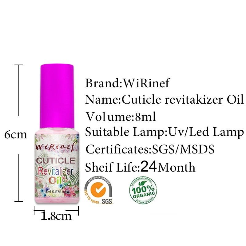 WiRinef New Cuticle Revitalizer Oil Nail Art Nourishment Treatment ...