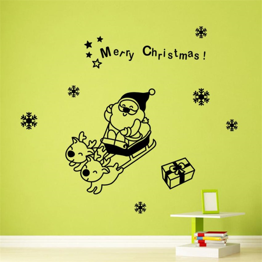 Cute Xmas Wall Art Pictures Inspiration - The Wall Art Decorations ...