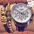 Uhren Männer Luxusmarke BINGER Automatische Mechanische Uhr Wasserdicht Kalender Leder Armbanduhr relogio masculino 2017|masculino|masculinos relogiosmasculino watch -