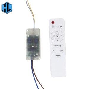 Image 2 - 12 24Wx2 bezpieczeństwa LED z tworzywa sztucznego sterownik AC165 265V napęd zasilania transformatora z pilot na podczerwień do oświetlenia LED