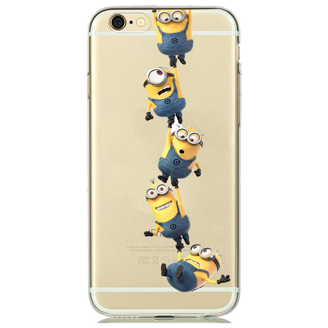Despicable Me Minion Clear Silicone Phone Cases