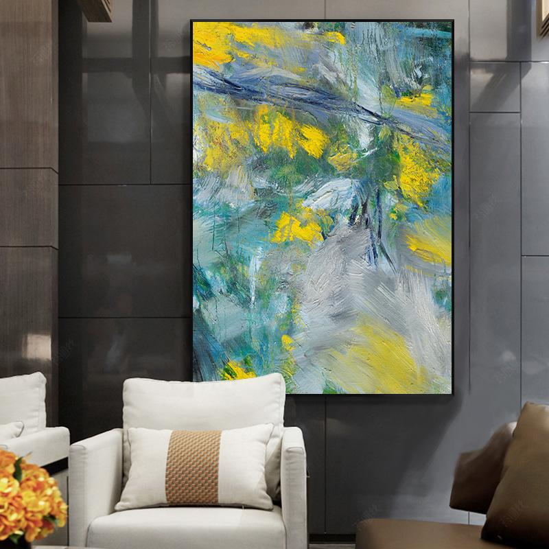 Home Decorat: 5D Modern Living Room Abstract Diamond Painting Full