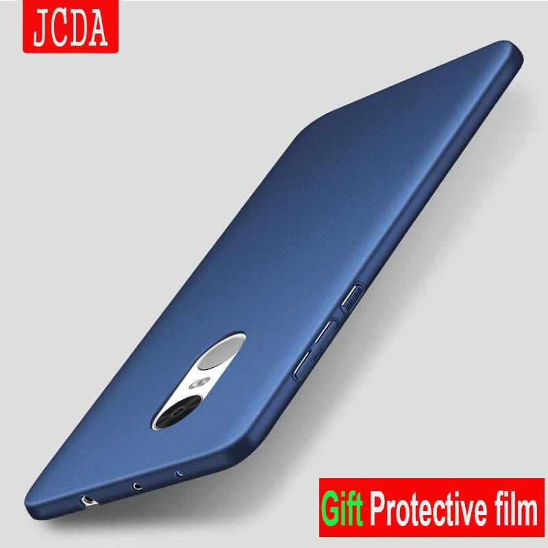 JCDA Brand For Xiaomi Redmi NOTE 4X 4A 4 pro prime 3S 3 5 6 5s plus 4G phone case bag Silicone scrub cover Luxury Hard Frosted
