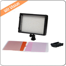 LED Video Light Camera Camcorder Lamp for Canon Nikon High CRI Dimmable LED Panel