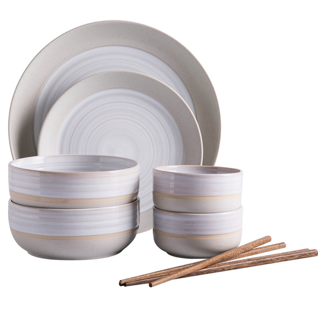 Ceramic dish Snack dishes large Salad bowl Fish plates High quality plate and dishes Soup Bowl  sc 1 st  AliExpress.com : soup bowl and plate set - pezcame.com