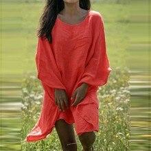 блузка женщины плюс размер женские топы и блузы blusas mujer де мода мода Sexy сплошной цвет свободные и летучая мышь с длинным рукавом или Z4
