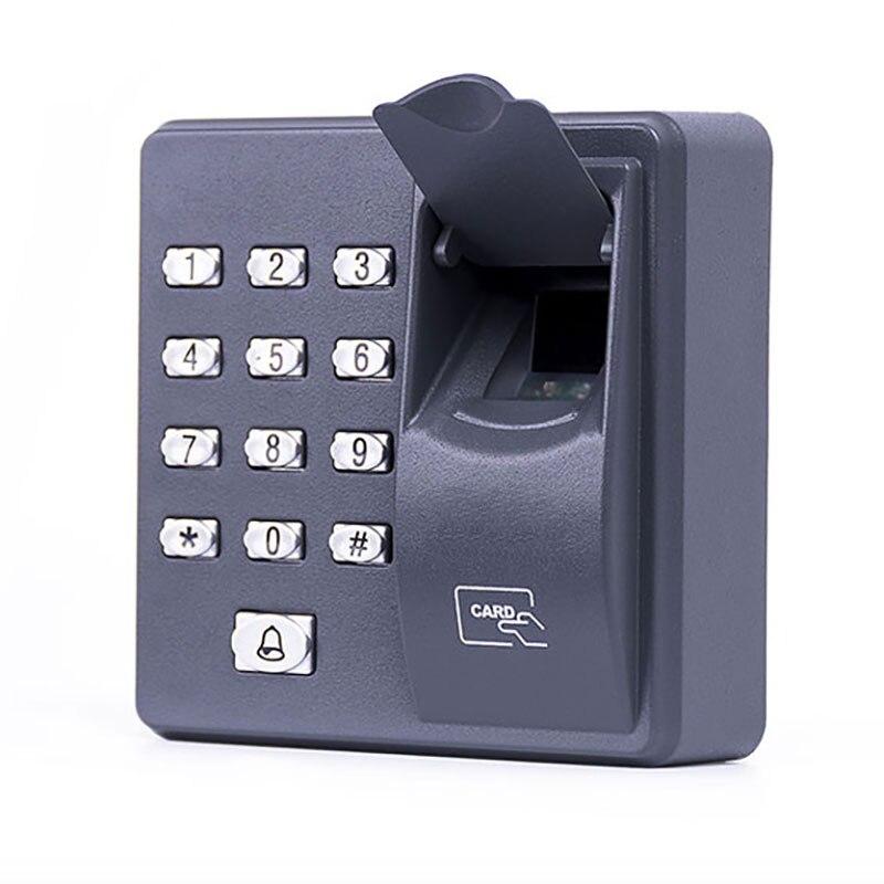 Control de Acceso de huellas dactilares controlador de puerta individual independiente más barato teclado independiente dedo + tarjeta RFID X6 Entrada de puerta Cerradura electrónica RAYKUBE Wifi con Tuya APP remotamente/huella digital biométrica/tarjeta inteligente/contraseña/desbloqueo de llave FG5 Plus
