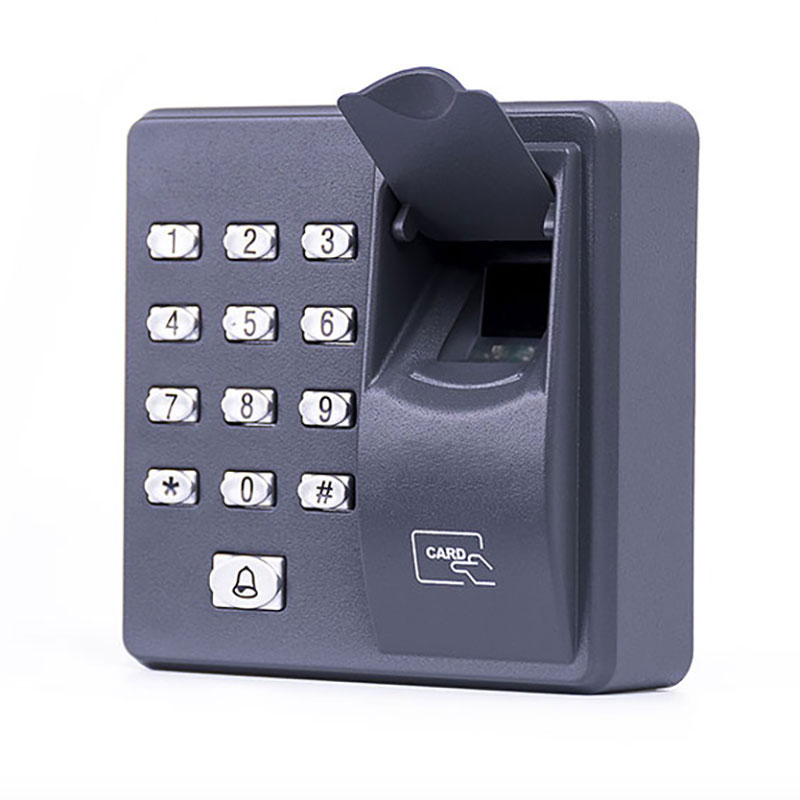 Fingerprint Access Control Standalone Single Door Controller Cheapest Standalone Keypad Finger +RFID Card X6 Door Entry