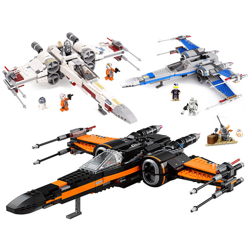 2019 NEW Star Fighter First Order Poe's X Wing Fighter Wars  75218 75149 75102 Building Blocks Bricks DIY Toys