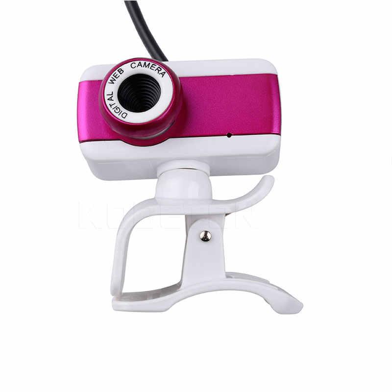 Новый цифровой USB 50 м мегапиксельная веб-камера стильная Поворотная камера HD веб-камера с микрофоном Микрофон клип для ПК ноутбук компьютер