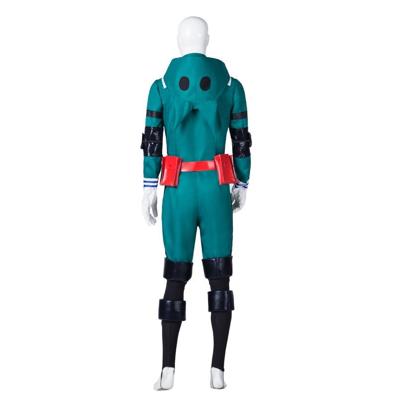 Image 2 - My Hero Academia Boku no Hero Academia Midoriya Izuku Deku Cosplay Costume Belt Accessory Men Women Jumpsuit Halloween Christmas-in Anime Costumes from Novelty & Special Use