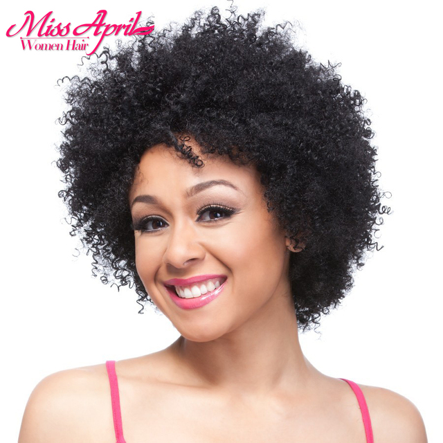 Hot Afro Kinky Curly Short Wigs For Black