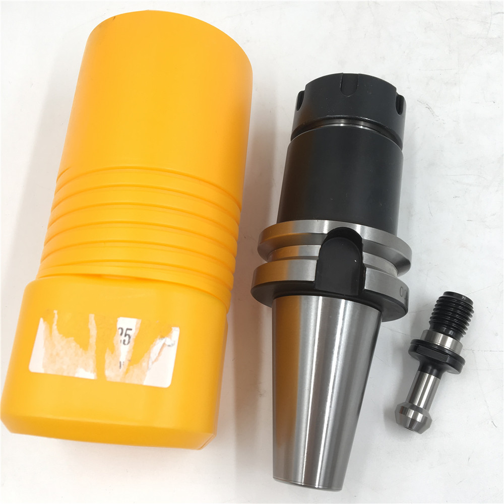 BT40 Tool Holder ER32 Collet Chuck L200mm Toolholder Milling Cutter CNC Machining Center New 1 pcs er32 hsk63 toolholder collet chuck tool holder cnc milling lathe tool holder g2 5 30000rpm for machine to cutting