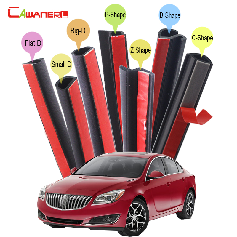 Cawanerl For Buick LeSabre Lucerne Verano Regal Car Hood Trunk 4-Door Rubber Sealing Strip Kit Seal Edge Trim Weatherstrip free shipping 1pcs lot the original japanese safety relay g9s 2002 dc24v