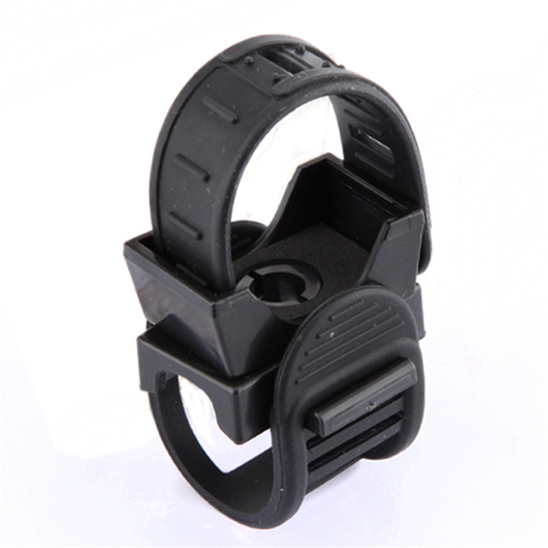 Ajustable Bicycle Lights Mount Rotational Clip Clamp MTB Bike LED Front Flash Light Torch Lamp Mount Clip Holder Bracket