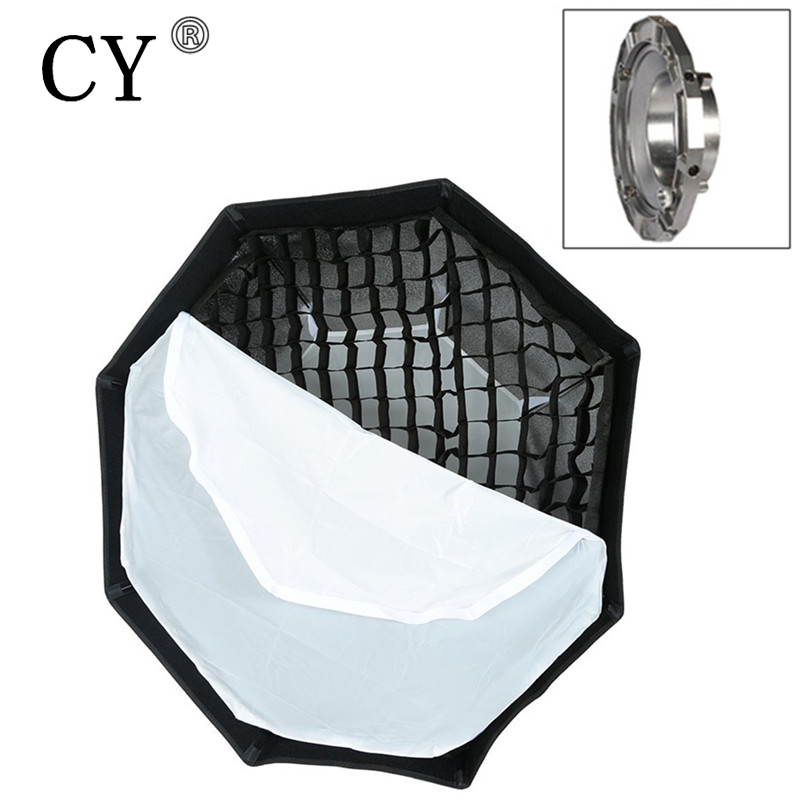 95cm Bowens Mount Octagon Softbox with Grid for Studio Flash Photo Studio Soft Box Photography Accesorios Fotografia bowens mount octagon softbox 120cm with grid for studio flash photo studio soft box photography accesorios fotografia