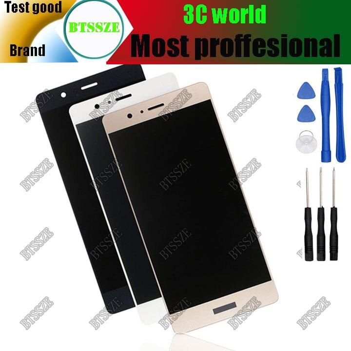 imágenes para Huawei p9 lite pantalla Táctil + asamblea del LCD Sensor de Cristal negro 100% blackwhitegold Original para huawei p9 lite con herramientas