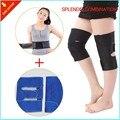 Tira Da Cintura Suporte Para as Costas magnética Neoprene Apoio Lombar Auto-aquecimento turmalina Knee Brace Suporte com Ímã frete grátis