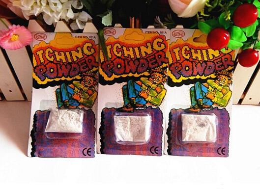 3pcs/lot Creative Itch Itching Powder Packages ~ Prank Joke Trick Gag Funny Joke Trick Magic