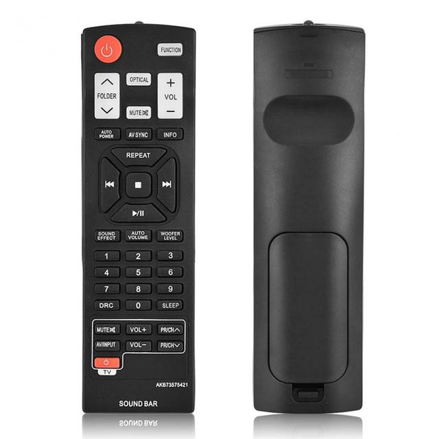 US $5 28 35% OFF|Replacement Remote Control Controller for LG Soundbar  AKB73575421 NB2420A NB3520A NB4530B-in Remote Controls from Consumer