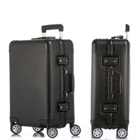 20'' 24'' 29'' Aluminum Luggage Suitcase Travel Trolley Rolling Spinner Hardsider Carry On Luggage Suitcase Cabin Case