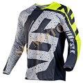 Novo 2017 NVI 180 HC Camisa Motocross Motocicleta Manga Longa T-Shirt De Corrida MX ATV Dirt Bike Ciclismo DH Jerseys S-XXL