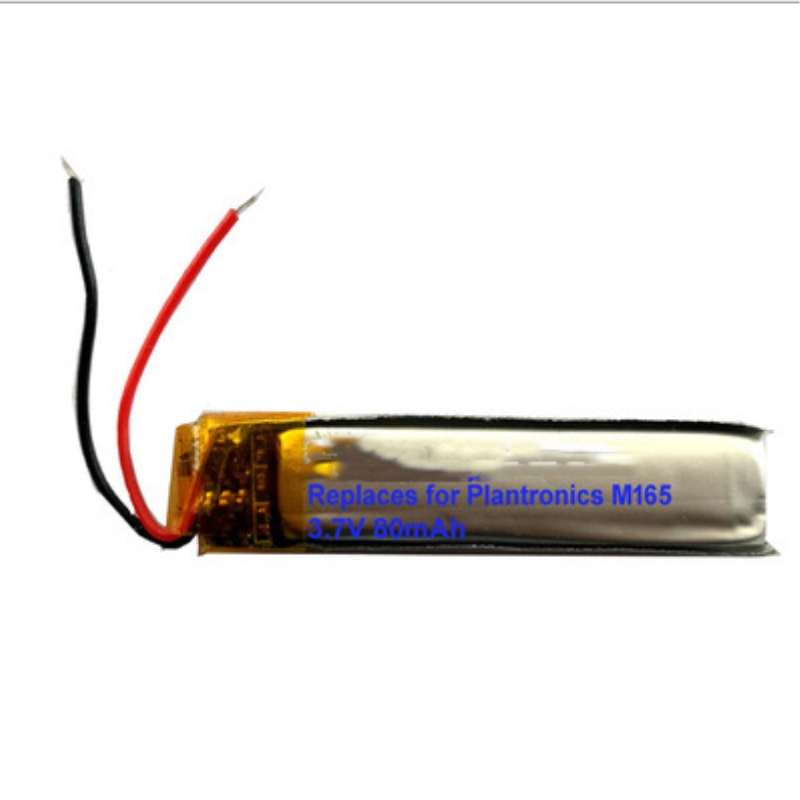 Bateria para Plantronics Fone de Ouvido Lote Ttvxo Lssp321036ab M165 Bateria 5 Pçs –