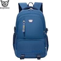 BAIJIAWEI New Casual Student Backpack Junior High School Bags Outdoor Children Travel Backpacks Laptop Bag For Men And Women