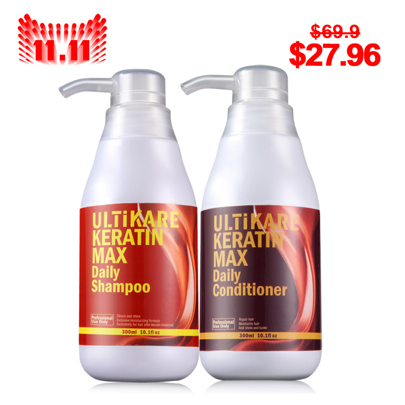 Christmas gifts keratin treatment  daily care shampoo and daily conditioner Smooth hair morocco argan oil scalp for frizzy dry hair keratin repair treatment hair care keratin hair split ends conditioner dangello oil