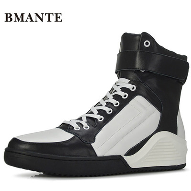 New Men Genuine Leather Shoes Luxury Trainers Winter Male Adult Ankle Flower Boots Casual Lace-up Flats Spring Black Sneaker new men genuine leather shoes luxury trainers summer male adult shoes casual flats solid spring black lace up shoes