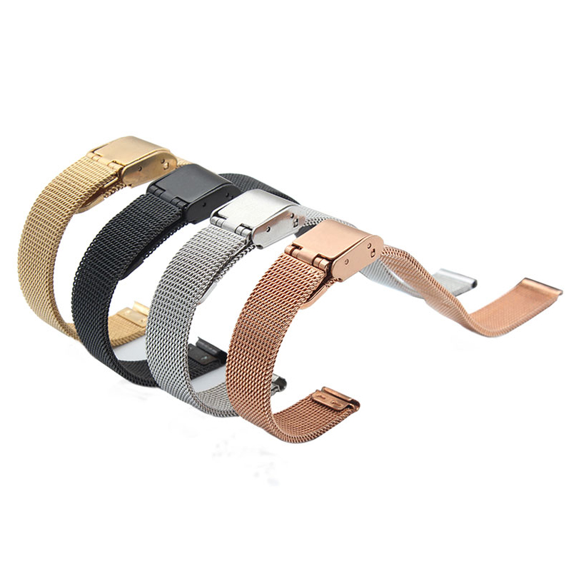 New listing B2 B3 stainless steel replacement strap for Huawei B2 B3 Talkband black gold silver