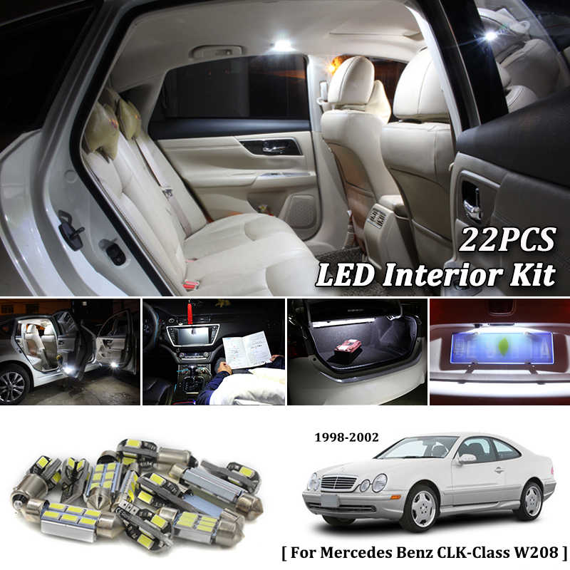 Detail Feedback Questions about 22X White Canbus led Car