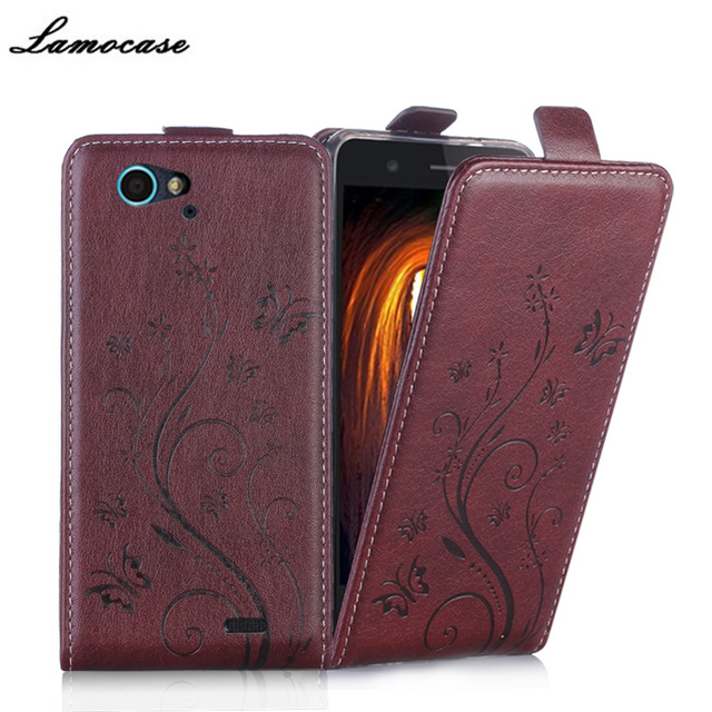 Luxury Leather Case For ZTE Blade L4 Pro/ L4Pro Flip Cover Cases For ZTE Blade A475 T610 Phone Bags Protective Lamocase Brand