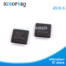 5PCS /LOT Original LCD chip AS15 AS15G AS15-G QFP New Wholesale Electronic