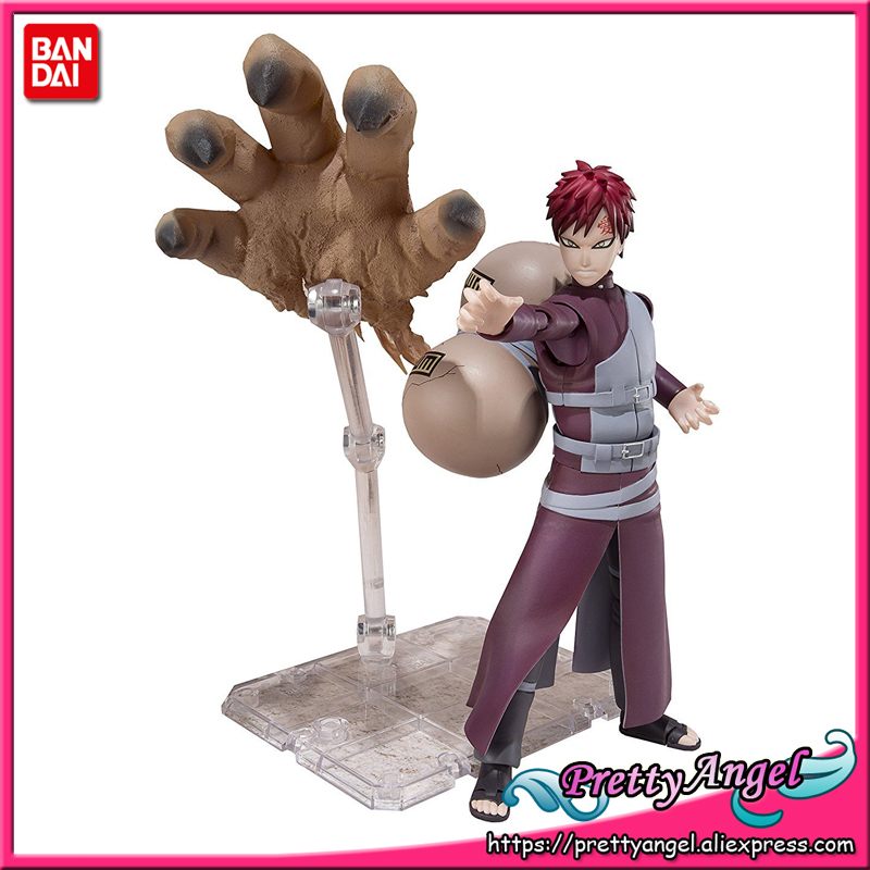 PrettyAngel - Genuine Bandai Tamashii Nations S.H.Figuarts Exclusive NARUTO Shippuden Sabaku no Gaara Action Figure все цены