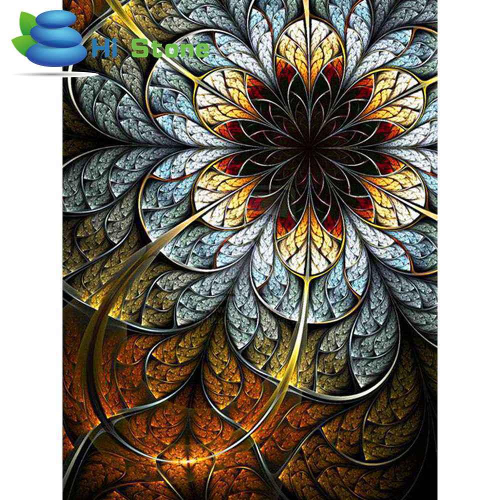 Новый алмаз живопись 5D DIY Вышивка крестом с бриллиантами нерегулярные цвет цветы сцены горный хрусталь мозаика живопись Декор подарок