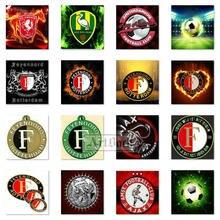 5d алмазная живопись футбольный значок Feyenoord полный квадратный/круглый горный хрусталь AJAX узор Алмазная вышивка 3d мозаика логотип