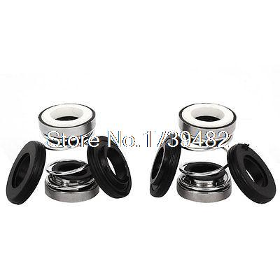 2pcs 12mm Inner Dia Ceramic Ring Sealing Shaft Mechanical Seal for Water Pump water pumps shaft single coil spring mechanical seal 15mm dia