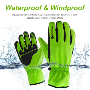 Image 2 - BOODUN Men Women Ski Gloves Winter Thermal Fleece Warm Breathable Snowboard Sports Windproof Waterproof Snow Skiing Gloves