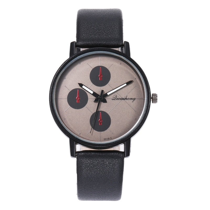 2019 Fashion Watch Female Models Korean Version of The Simple Fake Three-eye Ladies Casual Belt Quartz Watch2019 Fashion Watch Female Models Korean Version of The Simple Fake Three-eye Ladies Casual Belt Quartz Watch