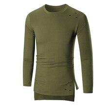 Mens' Long Sleeve buzo hombre men clothes 2018 ropa hombre de marca Hoodie Hooded Sweatshirt Tops Outwear Y731#30