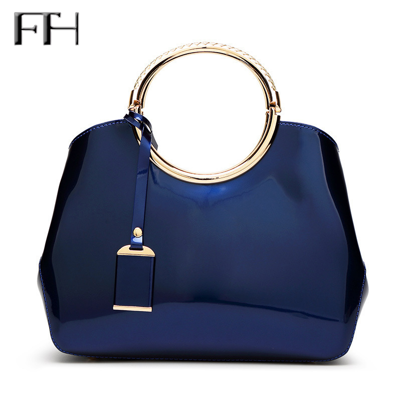 High Quality shining Patent Leather luxury tote handbag for Women Ladies' sexy messenger bag female delicate Noble Shoulder Bags patent leather handbag shoulder bag for women page 10