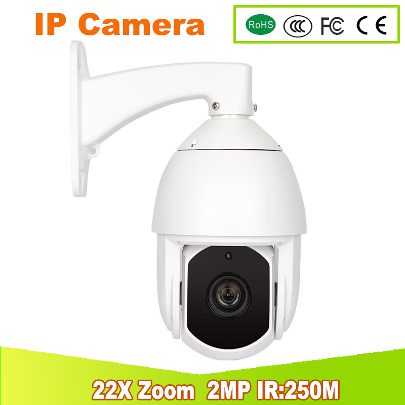 2017 new IP Speed Dome Camera HD IP 1080P 22X Zoom PTZ IP Camera ir 250m