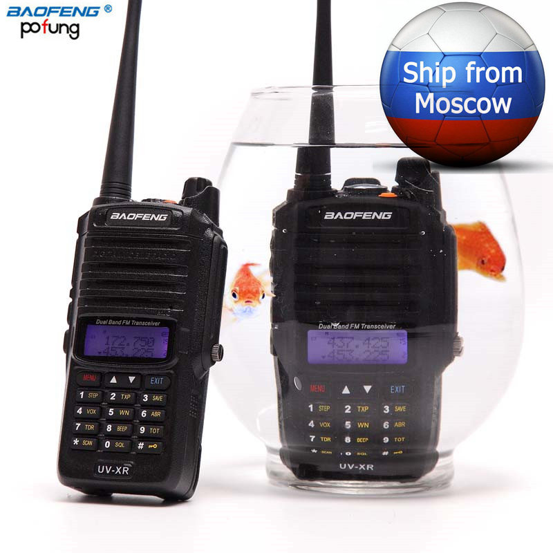 2019 Baofeng UV XR 10w Powerful cb Radio set IP67 Waterproof Walkie Talkie 10KM Long Range