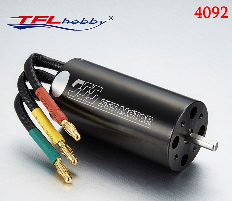 SSS 4092 KV1400 KV1650 KV2140 Brushless Inner Rotor Motor w/o water cooling for RC Boat