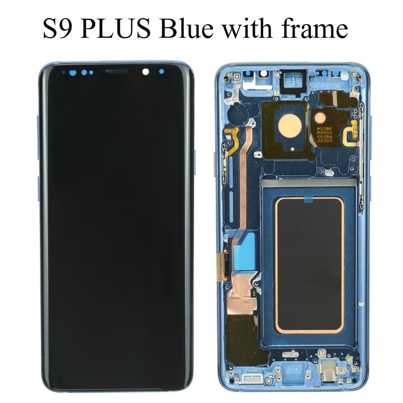 S9 Plus Blue Frame