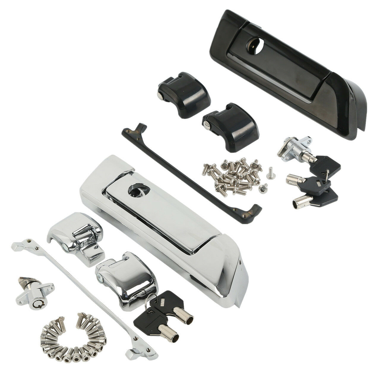 Motorcycle Tour Pak Pack Trunk Latch For Harley Touring Road King Street Glide Electra Ultra Classic