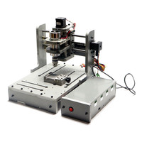 Cheap LY DIY Mini CNC 4 Axis Router Mini CNC Milling Machine Free Tax To RU