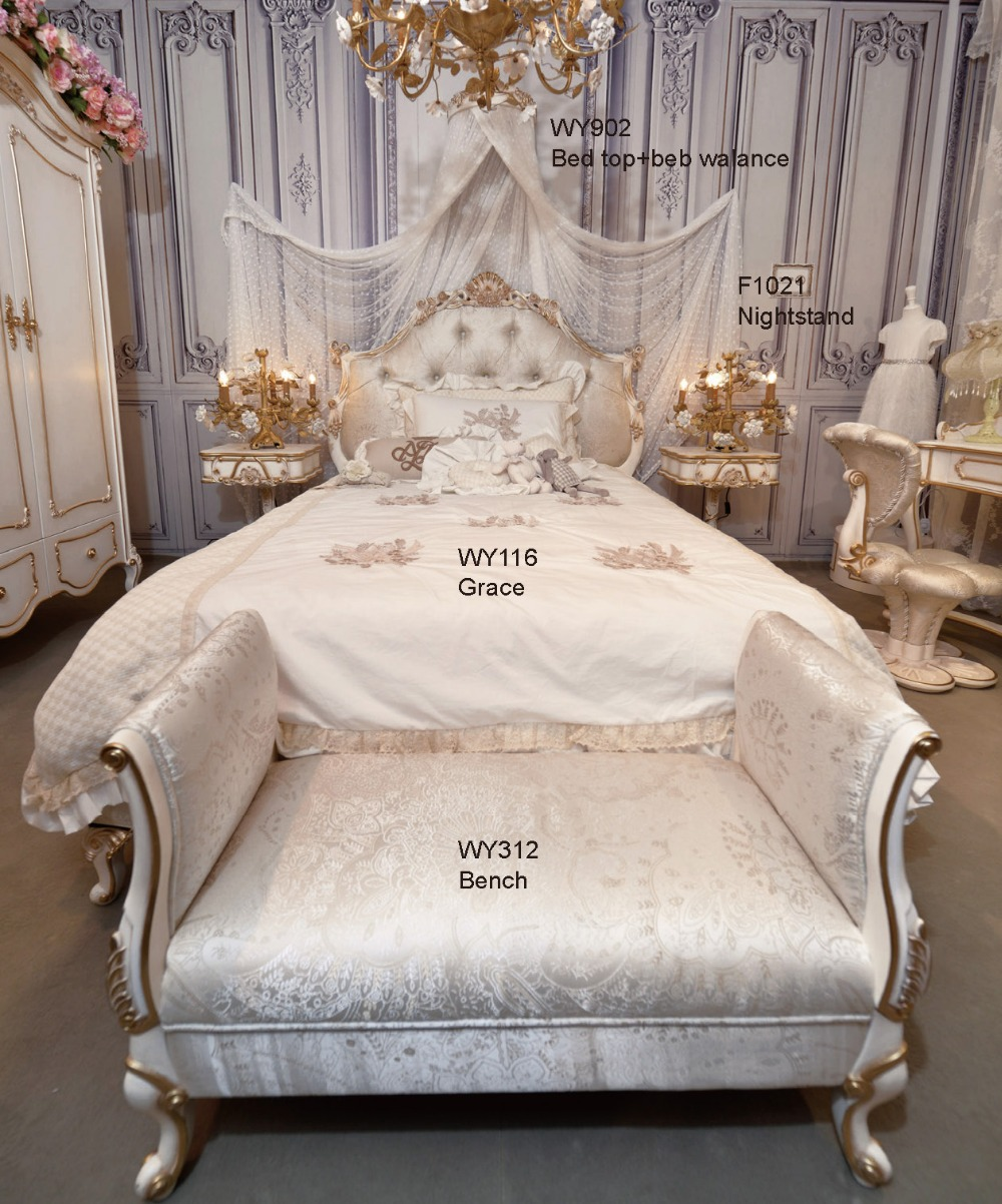 Modern Baroque Bedroom European Bedroom Set New Model European Style Bedroom Set